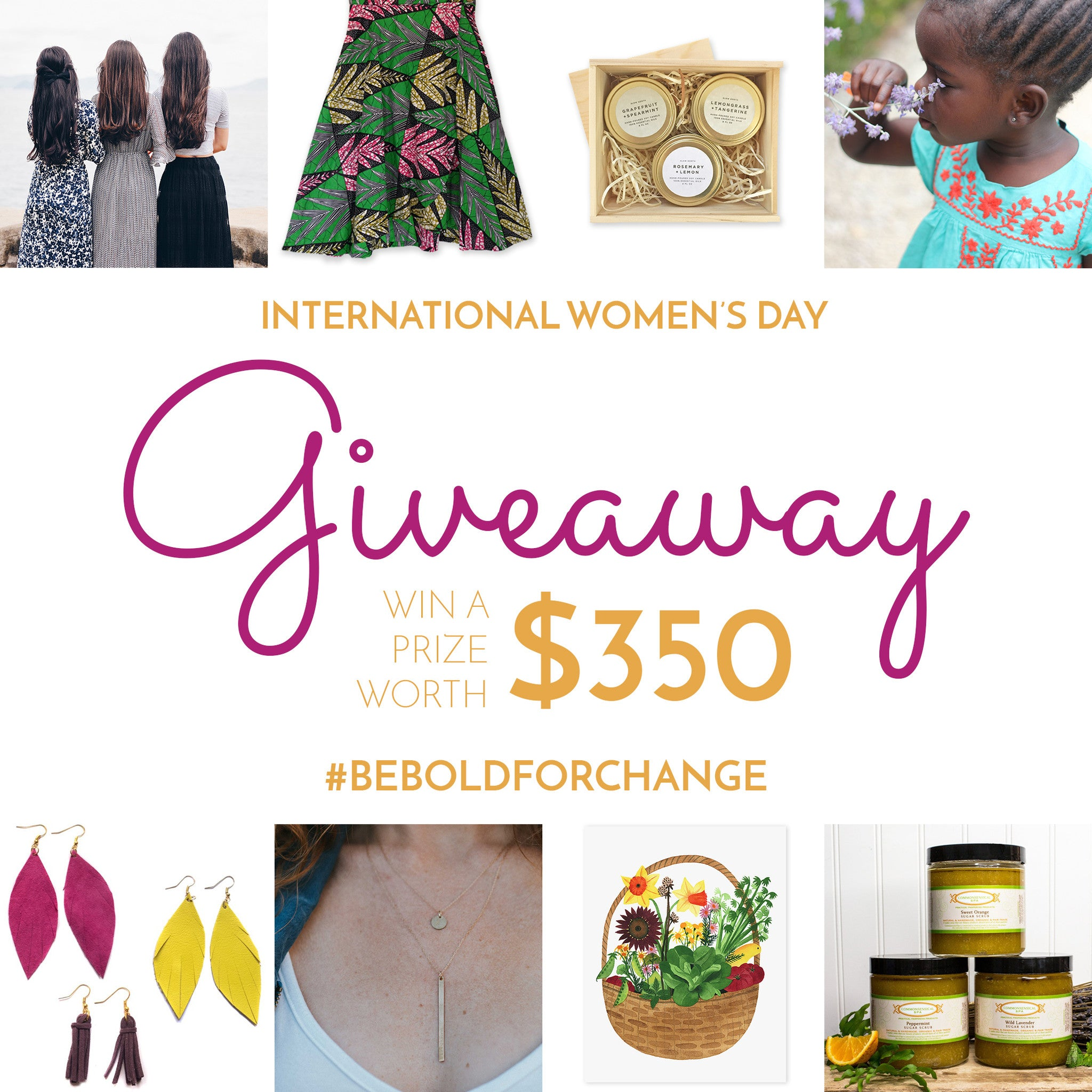 International Women's Day Giveaway!