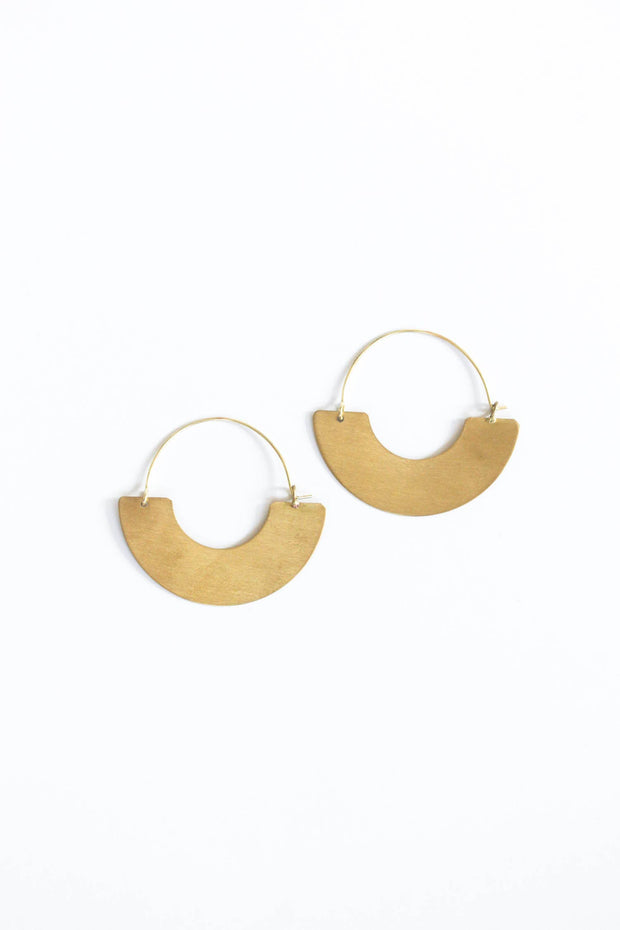 Everyday Hoop Earrings - Big - Mango + Main
