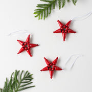 Star Ornament- Red - Mango + Main