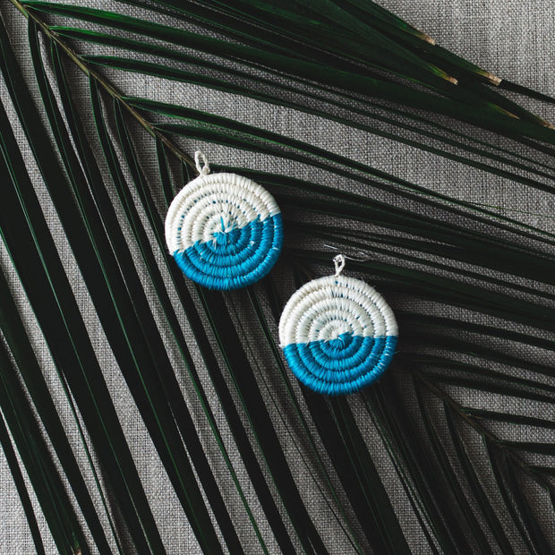 Eclipse Earrings - Turquoise - Mango + Main
