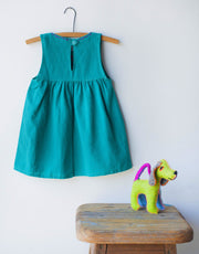 Jardinita Dress - Teal - Mango + Main