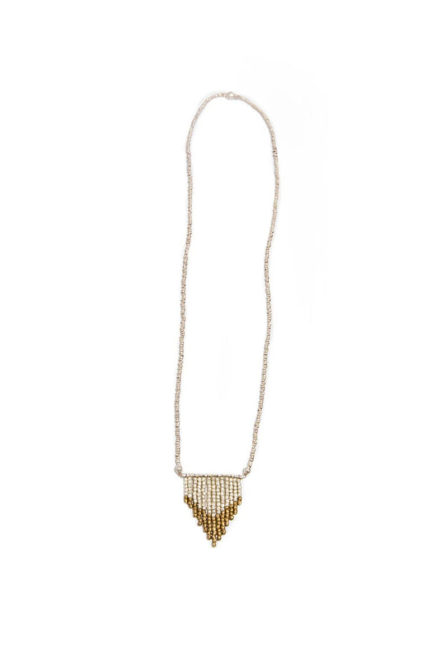 Ombre Arrow Necklace - Mango + Main