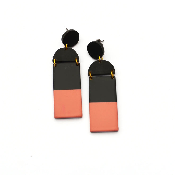 Mini Bisque Mobile Earrings