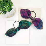 Sari Chic Silk Ponytail Bow