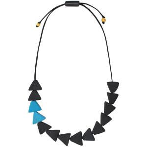 Fast Forward Necklace - Black