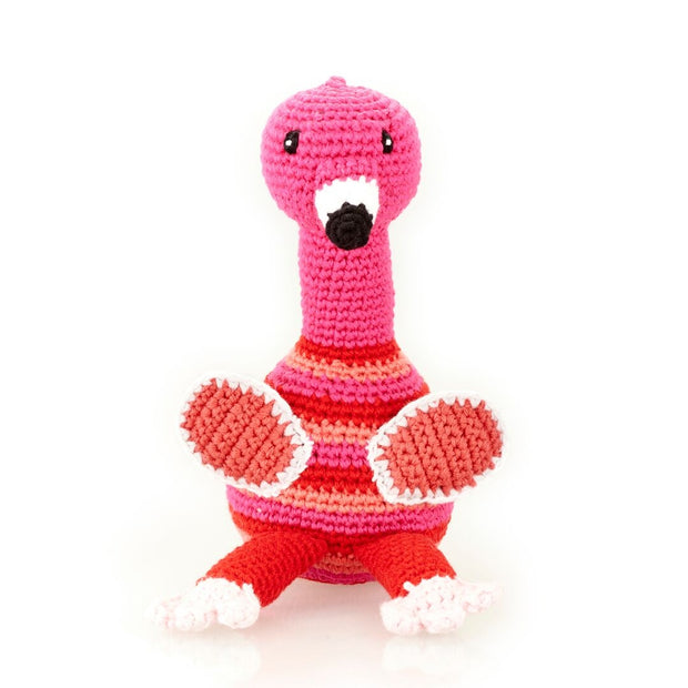 Flamingo Rattle