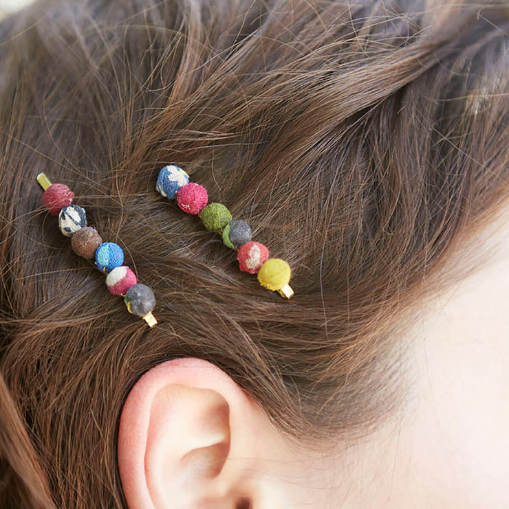 Sari Chic Hair Pins - Set Of 2