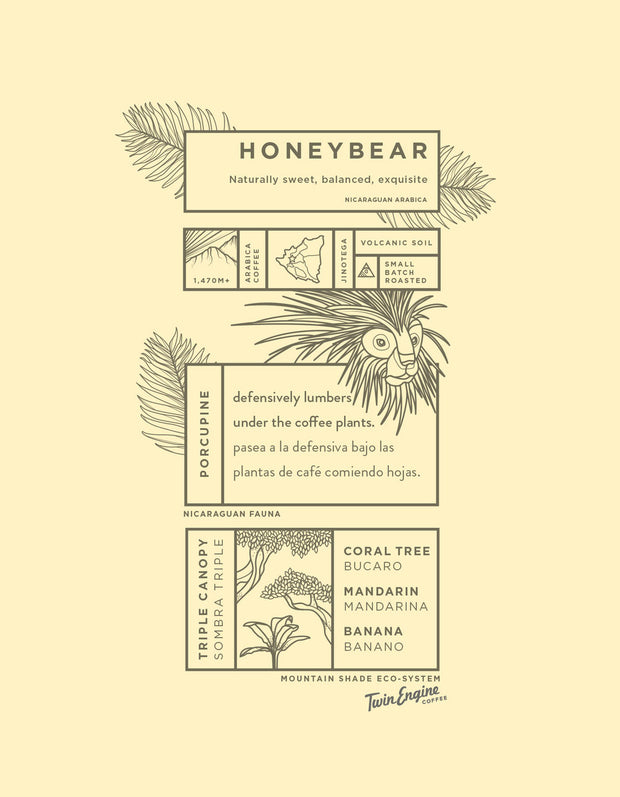 Honey Bear Reserve Coffee