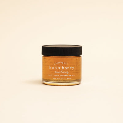 Raw Local Honey - 3oz