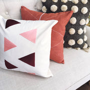 Criss Cross Pillow Cover - Sienna