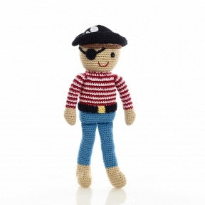 Hand Knitted Pirate - Mango + Main