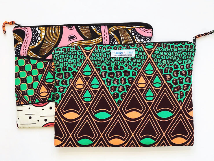 Kitenge Laptop Sleeve - Small