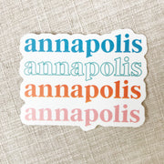 Annapolis Sticker