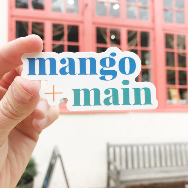 Mango + Main Sticker