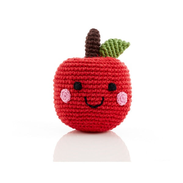 Hand Knitted Apple - Mango + Main