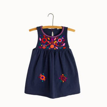 Jardinita Dress - Navy - Mango + Main