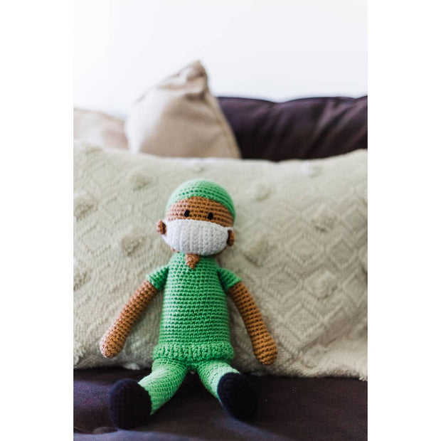 Knitted Healthcare Hero