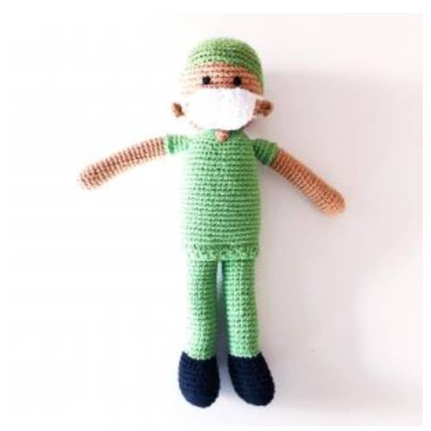 Hand Knitted Nurse