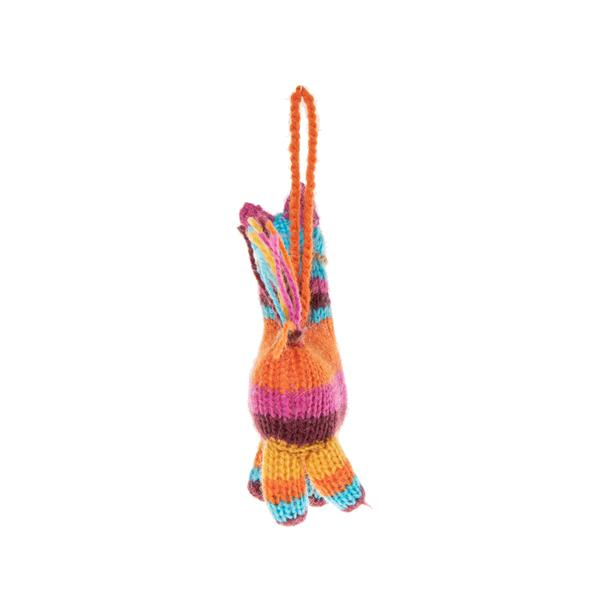 Knitted Piñata Ornament