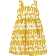 Girls Sundress - Sahara Mustard