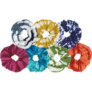 Market Bow Scrunchies - Mango + Main