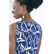 Boardwalk Dress - Navy Sisters