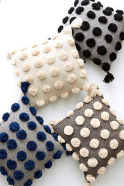 Ula Pom Pom Pillow - Mango + Main