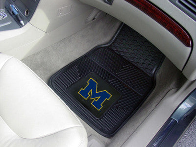 University Heavy Duty 2-Piece Vinyl Floor Mats - Choose your University