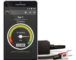 Battery-Guard Monitor Bluetooth Device