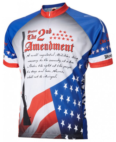 2nd Amendment Mens Cycle Jersey