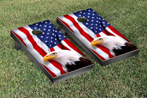 American Eagle Cornhole Game Set
