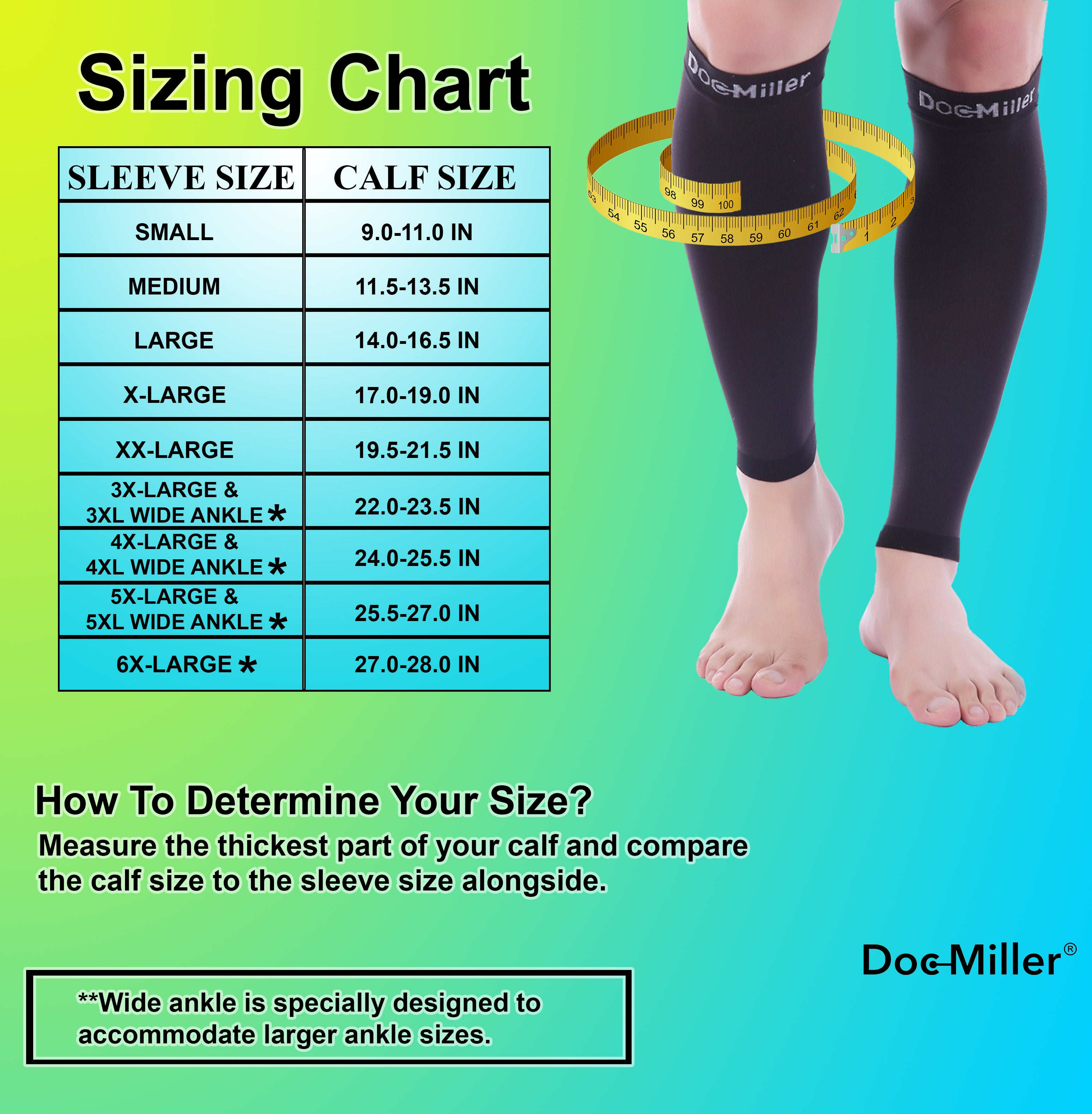 DOC MILLER COMPRESSION SOCKS SLEEVE GREY RED XXL 20-30mmHg VARICOSE RECOVERY NEW