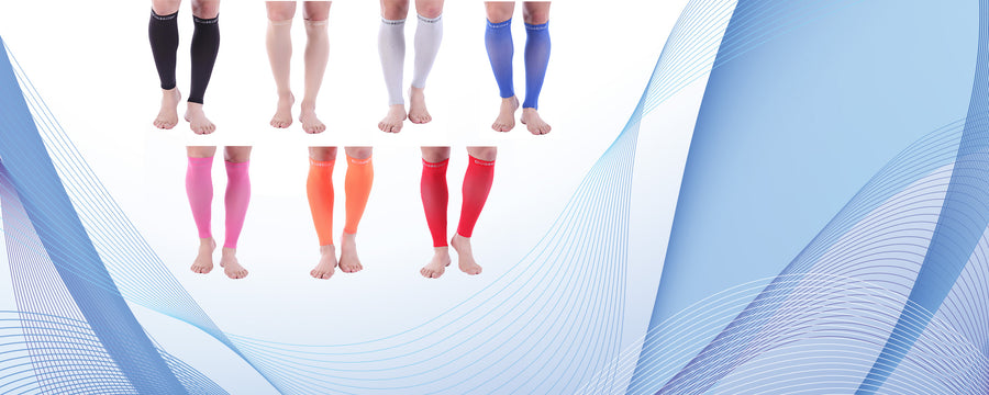 Premium Calf Compression Sleeve Argyle