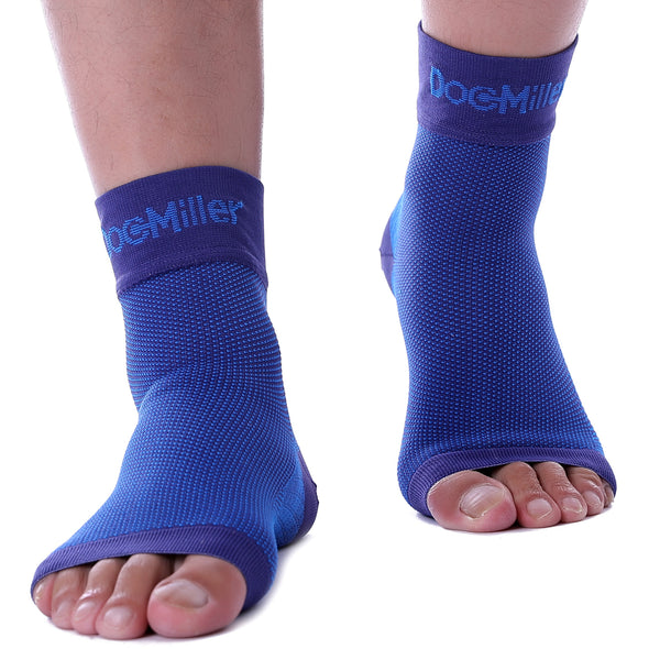 Medical Grade Compression Foot Sleeves BLUE