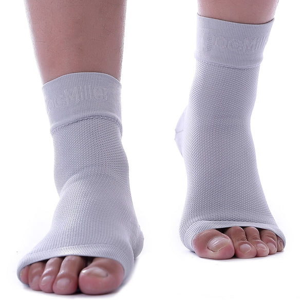 Medical Grade Compression Foot Sleeves GRAY