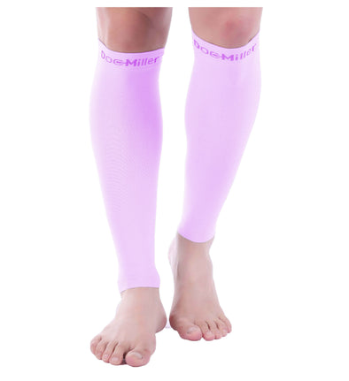 Doc Miller Calf Compression Sleeve 30-40 mmHg Lilac 1 Pair