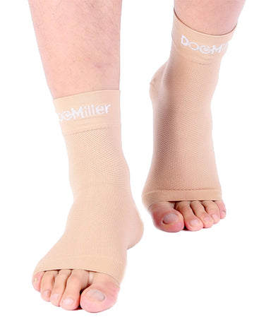 Medical Grade Compression Foot Sleeves SKIN/NUDE