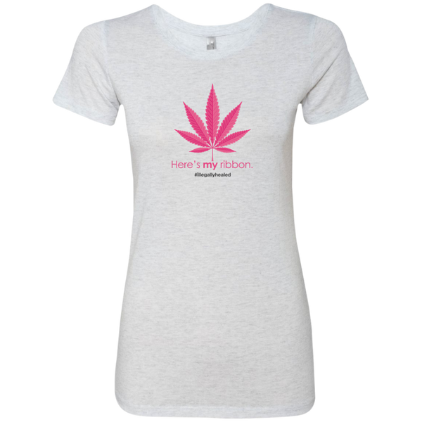 My Ribbon Limited Edition Ladies Triblend T-Shirt