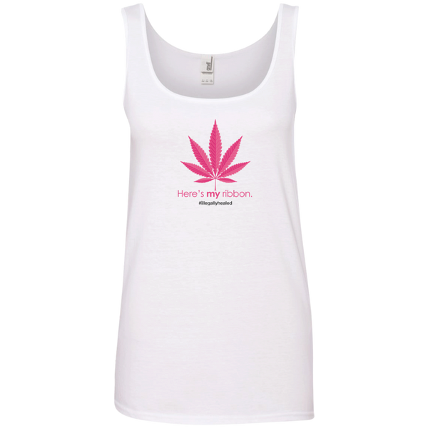 My Ribbon Limited Edition Ladies' 100% Ringspun Cotton Tank Top