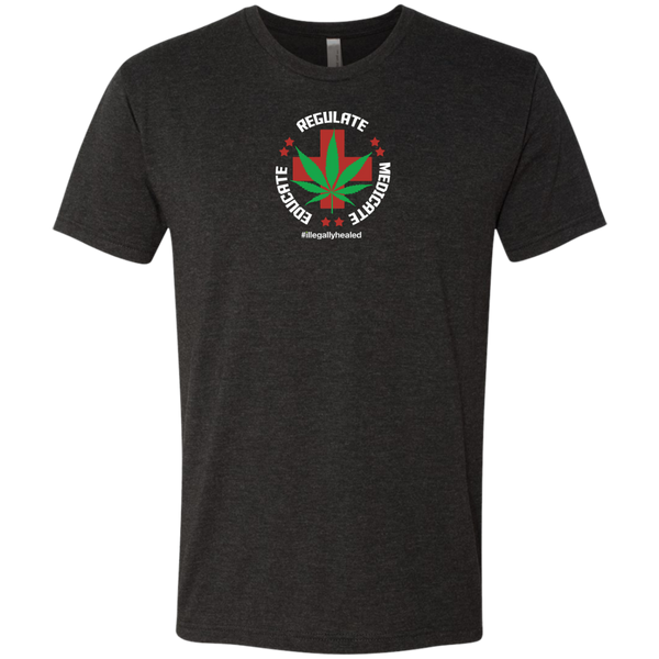 Educate Regulate Medicate Tri-Blend Tee