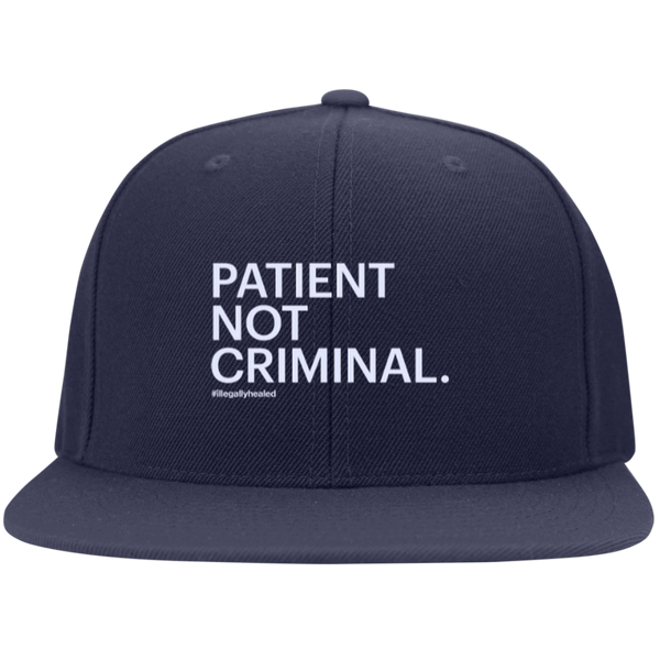 Patient Not Criminal Snapback Hat