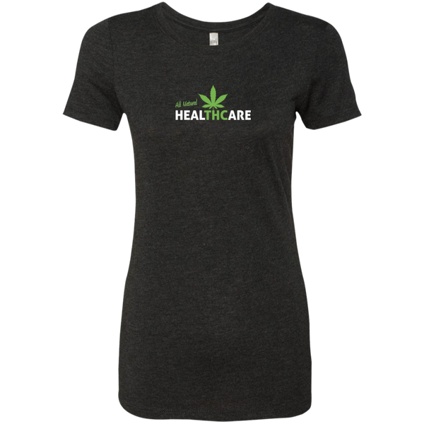 All Natural Healthcare Ladies Triblend T-Shirt