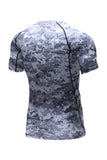 Nooz 4 Way Stretch Men's Cool Tech Quick Dry Compression Short Sleeve T-Shirt