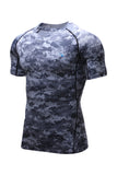Men's Compression Short Sleeve V-Neck T-Shirt
