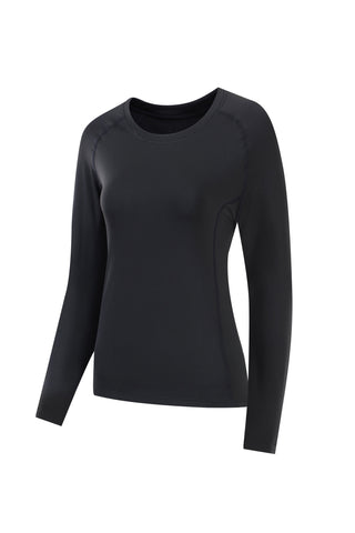 Women's SubZero Fleece Lined Thermal Long Sleeve T Shirt