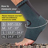 Nooz Compression Ankle Braces - 1 Pair