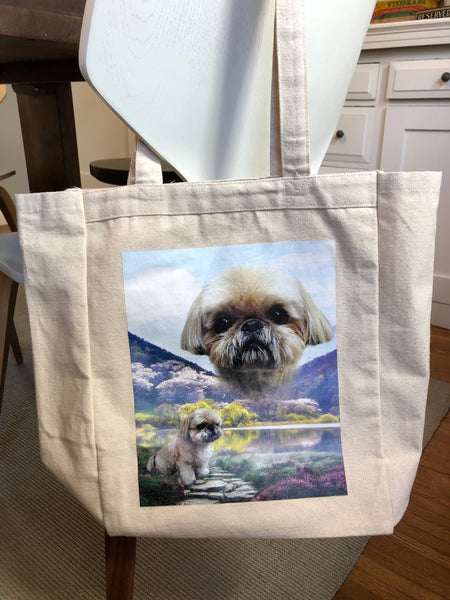 Heavy Cotton Tote Bag - Includes Domestic Shipping!