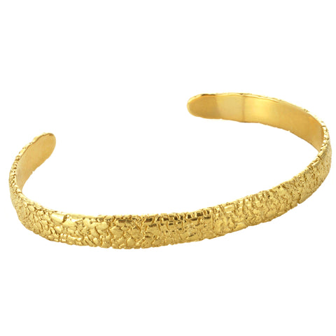 Yellow Gold Cuff Bracelet