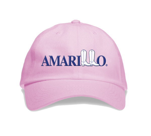 Amarillo Floppy Baseball Caps