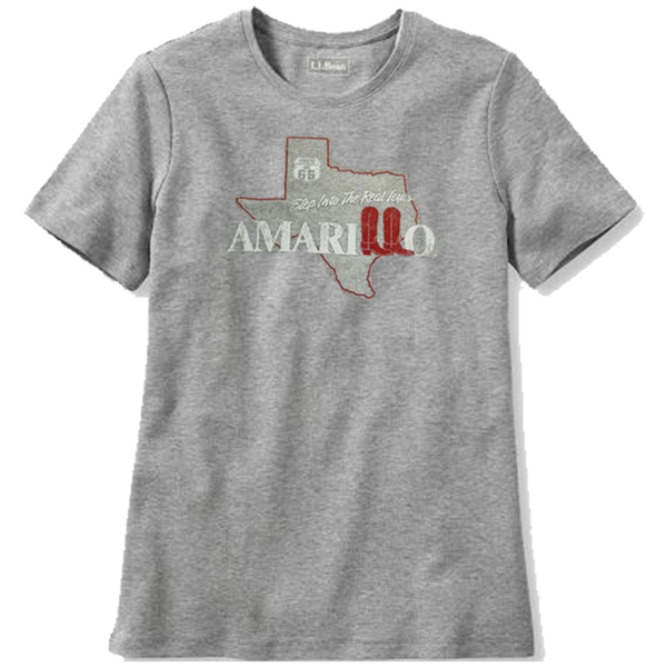 """Step into the Real Texas"" Amarillo T-Shirt"